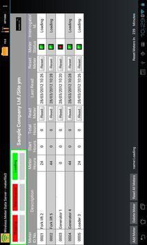 Wireless Meter Data Server apk screenshot