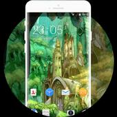Theme for Sony Xperia X Cartoon Wallpaper icon