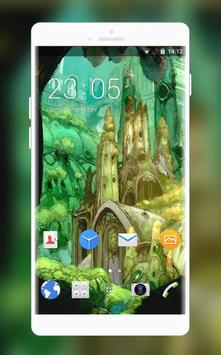 Theme for Sony Xperia X Cartoon Wallpaper poster