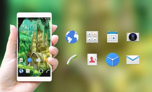 Theme for Sony Xperia X Cartoon Wallpaper apk screenshot