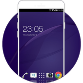 Theme Sony Xperia Z2 Wallpaper & Icon icon