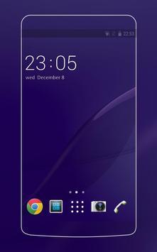 Theme Sony Xperia Z2 Wallpaper & Icon poster