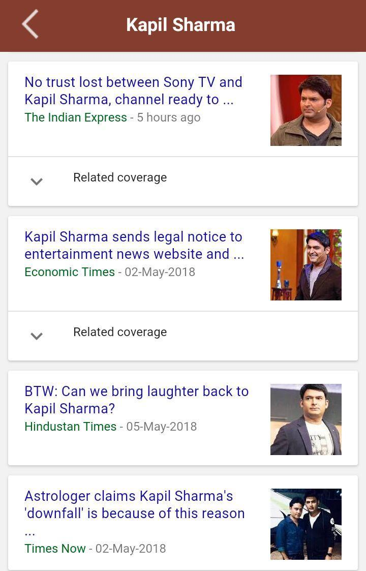 Kapil Sharma Shows Funny Videos & News for Android - APK