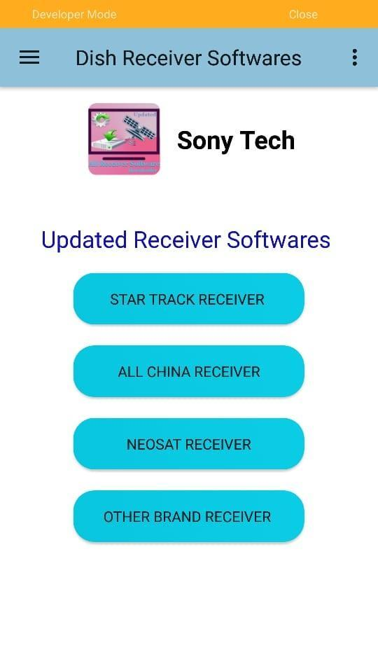 All Type Dish Receiver Updated Software Downloader for Android - APK