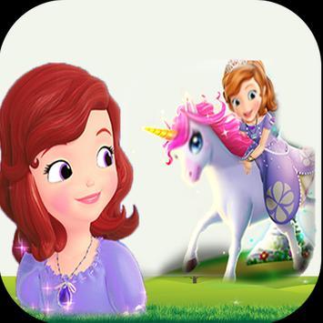 The spirit of princess Sofia's horse game poster