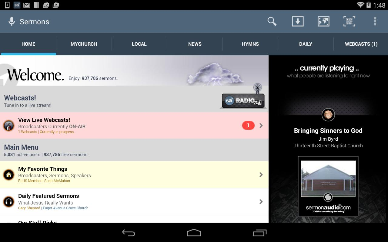 SermonAudio Android Edition for Android - APK Download