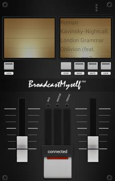 BroadcastMySelf apk screenshot