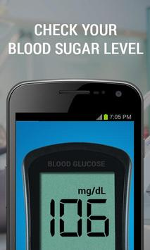 Blood Glucose Test prank apk screenshot
