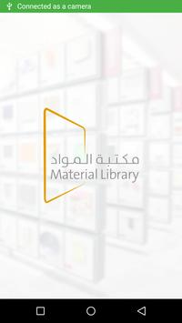 Material Library poster