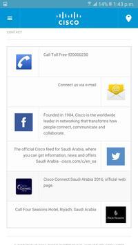 Cisco Connect Riyadh 2016 screenshot 2