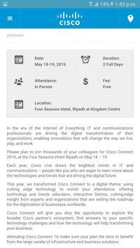 Cisco Connect Riyadh 2016 screenshot 3