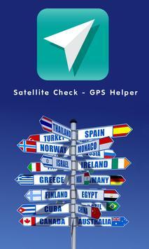 Satellite Check - GPS Helper poster