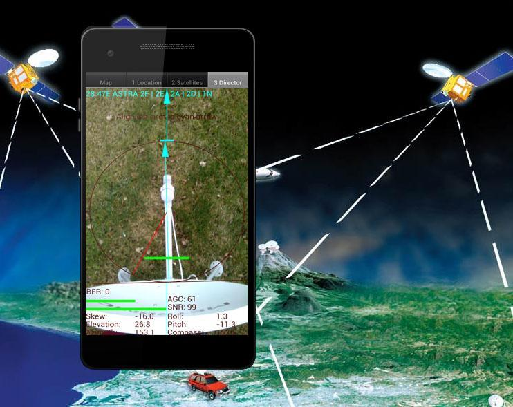 satellite director profesional for Android - APK Download