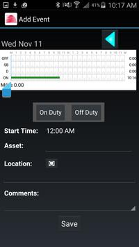 Saucon Driver Log screenshot 1
