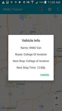 WMU Transit screenshot 4
