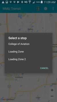 WMU Transit screenshot 2