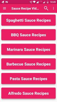 Sauce Recipes Video : BBQ, Easy, Best, Delicious screenshot 10