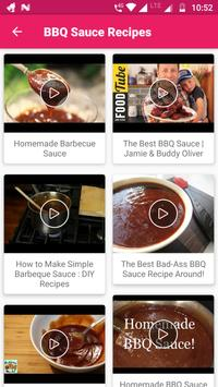 Sauce Recipes Video : BBQ, Easy, Best, Delicious screenshot 1