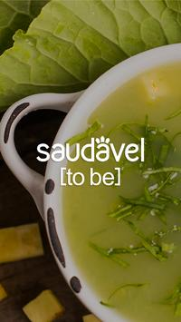Saudável [to be] poster
