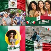 Mexico flag photo editor icon
