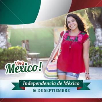 Mexico flag photo editor screenshot 2