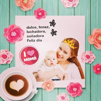 Custom Mother's Day Greeting Card poster
