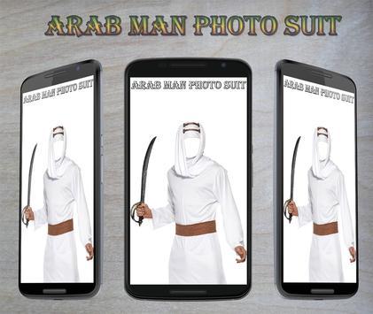 Arab Man Photo Suit screenshot 5
