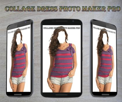 Collage Dress Photo Maker Pro poster