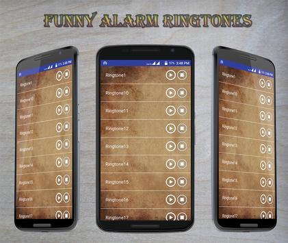 Funny Alarm Ringtones apk screenshot
