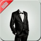 Man Black Photo Suit icon