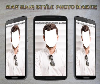 Man Hair Style Photo Maker poster