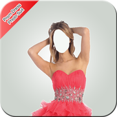 Prom Dress Photo Suit icon