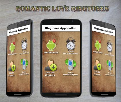 Romantic Love Ringtones poster