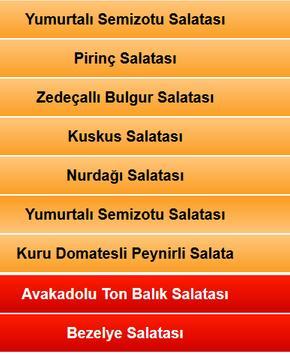 Nefis Salatalar screenshot 1