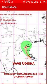 SAVE ODISHA from FANI CYCLONIC STORM screenshot 1