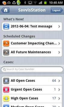 SavvisStation Portal screenshot 1