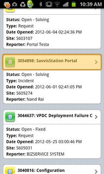 SavvisStation Portal apk screenshot