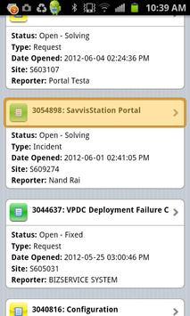 SavvisStation Portal screenshot 2