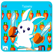 Typany Bunny Rabbit Keyboard Theme icon
