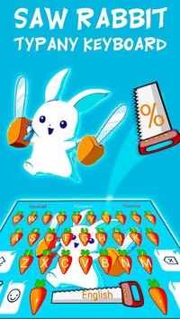 Typany Bunny Rabbit Keyboard Theme poster