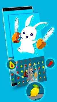 Typany Bunny Rabbit Keyboard Theme screenshot 2