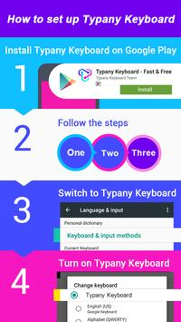 Typany Bunny Rabbit Keyboard Theme screenshot 4
