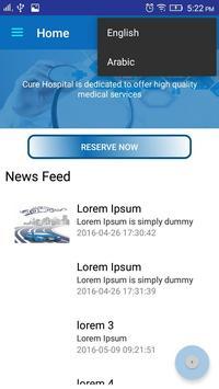 CureHospital apk screenshot