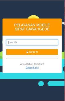 SIPAP Sawahgede poster