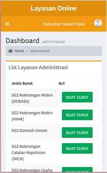 SIPAP Sawahgede screenshot 2