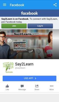 Say2Learn screenshot 4