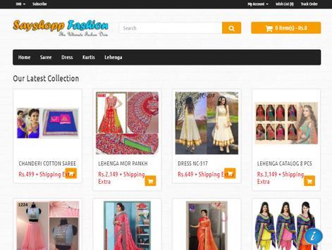Sayshopp Fashion screenshot 4