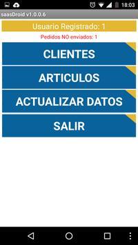 Pedidos El Destino apk screenshot