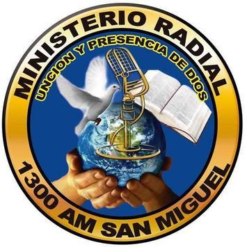 Radio Unción Y Presencia De Dios 1300 AM Poster