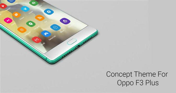 download theme iphone for oppo f3 plus